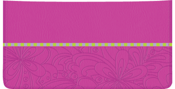 Psychedelic Checkbook Cover – click to view product detail page