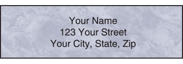 Royal Monogram Address Labels – click to view product detail page