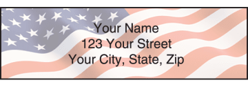 Stars and Stripes Address Labels – click to view product detail page