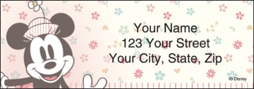 Minnie Mouse Address Labels - click to view larger image