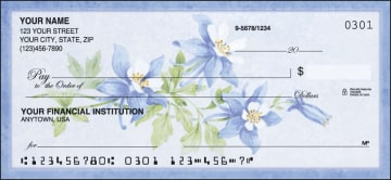 American Wildflowers Checks