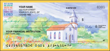 Country Churches Checks – click to view product detail page