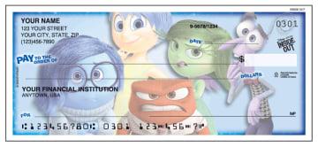 disney/pixar inside out checks - click to preview