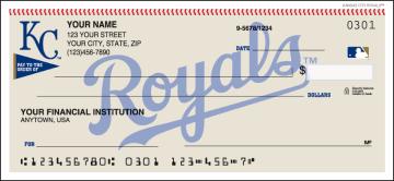 MLB - Kansas City Royals Checks – click to view product detail page