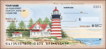Lighthouses Checks – click to view product detail page