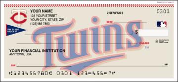MLB - Minnesota Twins Checks – click to view product detail page