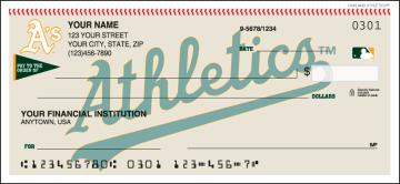 MLB - Oakland Athletics Checks - click to view larger image