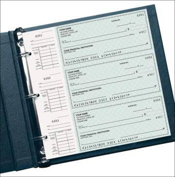 blue safety desk set checks - click to preview
