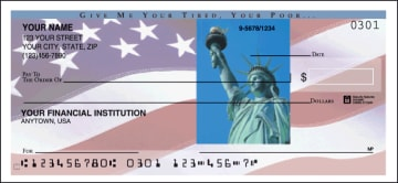 stars and stripes  side tear checks - click to preview