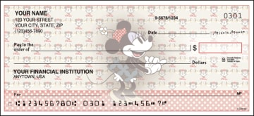 minnie mouse checks - click to preview