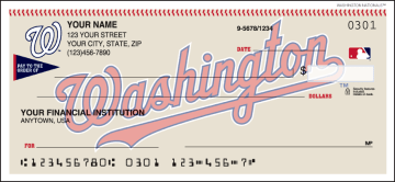 MLB - Washington Nationals Checks – click to view product detail page