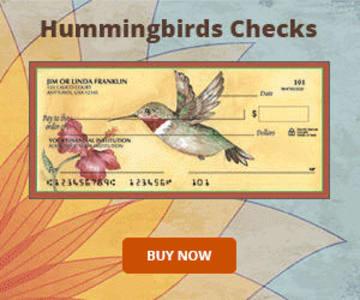 Hummingbirds Checks