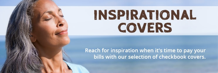 Inspirational Checkbook Covers