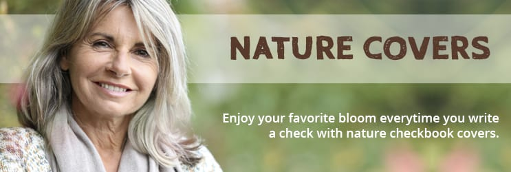 Nature Checkbook Covers