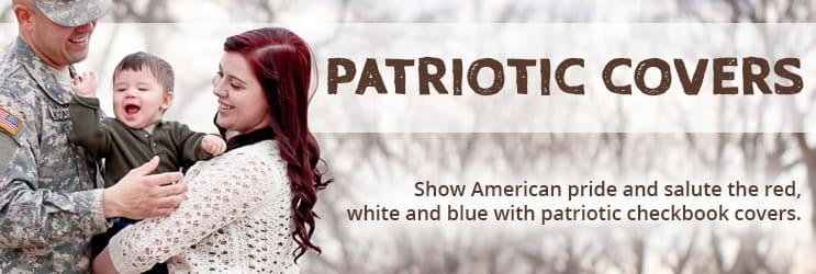 Patriotic Checkbook Covers