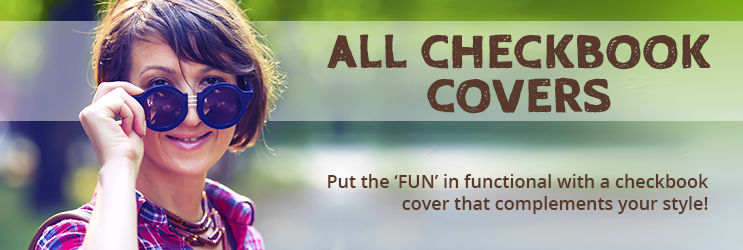 Checkbook Covers - Over 70 Designs | Designer Checks