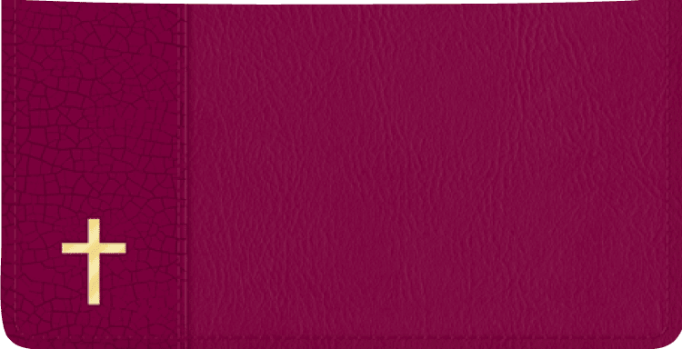 Believe Checkbook Cover