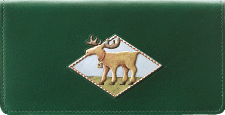 Cabin Fever Checkbook Cover