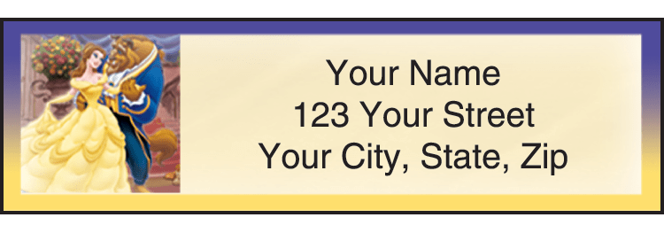 Disney Classics 2 Address Labels - click to preview