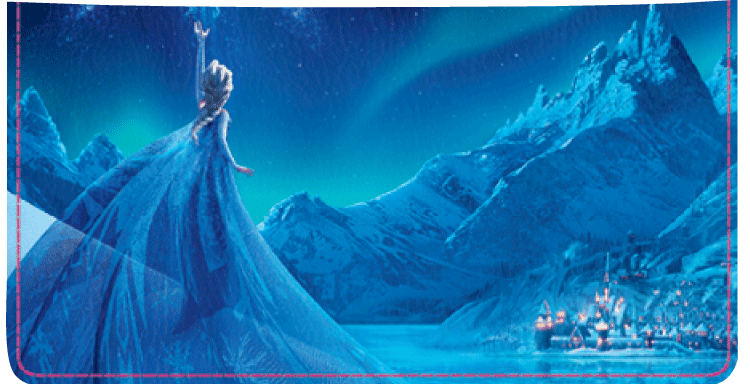 Disney's Frozen Checkbook Cover