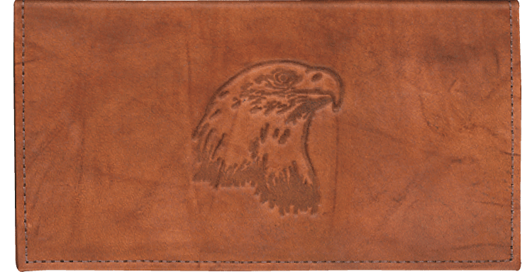 Enlarged view of Eagle Checkbook Cover