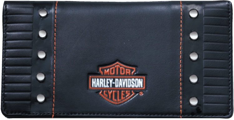 Enlarged view of Harley-Davidson® Checkbook Cover