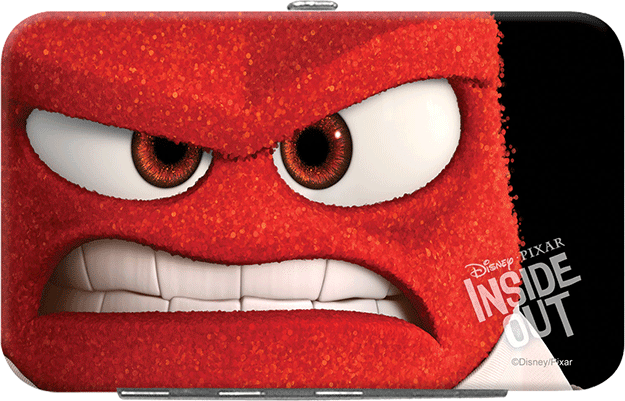 Enlarged view of Disney Pixar Inside Out Credit Card/ID Holder - Anger