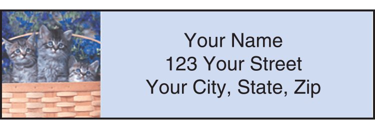 kitty review address labels - click to preview