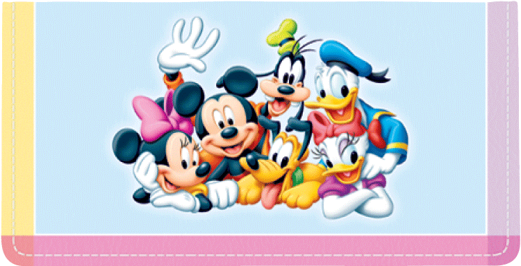 Disney Mickey's Adventures Checkbook Cover - click to view larger image