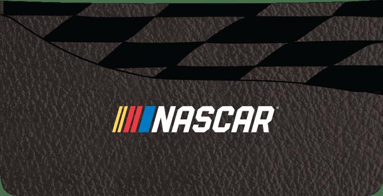 NASCAR Checkbook Cover