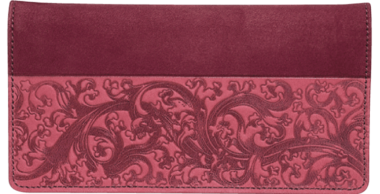 Renaissance Checkbook Cover - click to view larger image