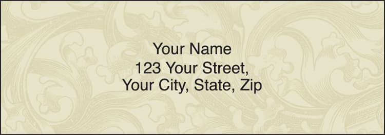 Renaissance Address Labels - click to preview