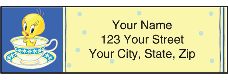 Totally Tweety Address Labels
