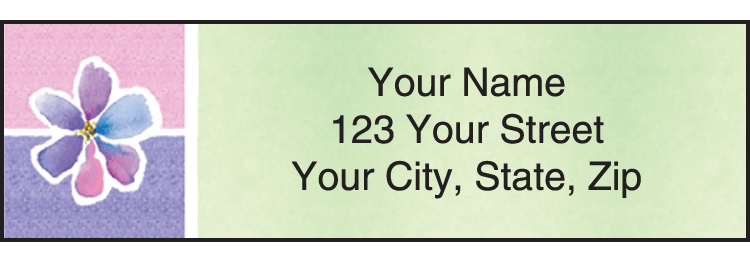 Kathy Davis Watercolors Davis Address Labels - click to view larger image