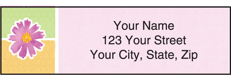 Kathy Davis Watercolors Davis Address Labels - click to preview