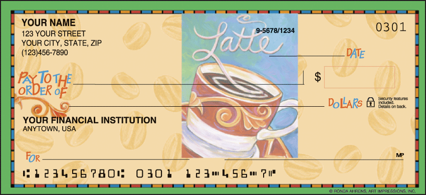 Cup o' Java Checks - click to preview