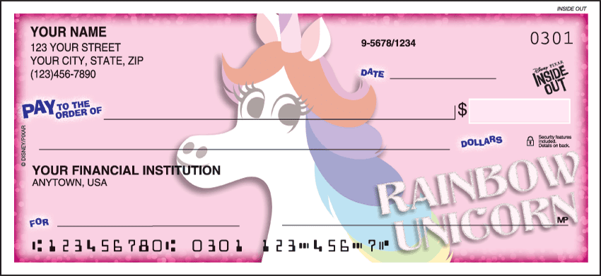 Disney/Pixar Inside Out Checks - click to preview