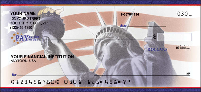 Enlarged view of Pride in America Checks