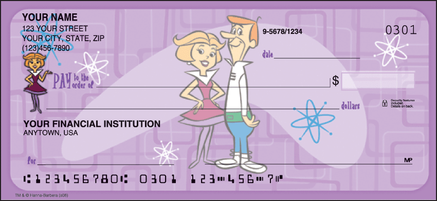 The Jetsons Checks - click to preview