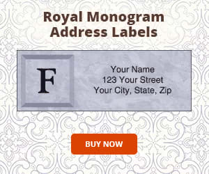 address labels order from designer checks