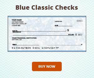 Blue Classic Checks