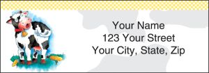 Moo Money Address Labels – click to view product detail page