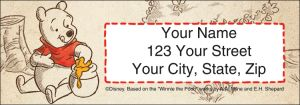 Winnie the Pooh Address Labels – click to view product detail page