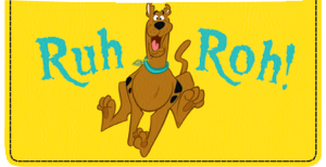 Scooby-Doo Checkbook Cover – click to view product detail page