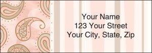 Swirls and Twirls Address Labels – click to view product detail page