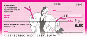 Disney Villains Checks – click to view product detail page