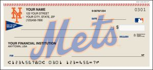 MLB - New York Mets Checks – click to view product detail page
