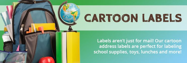 Cartoon Address Labels
