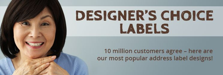 Designer's Choice Address Labels