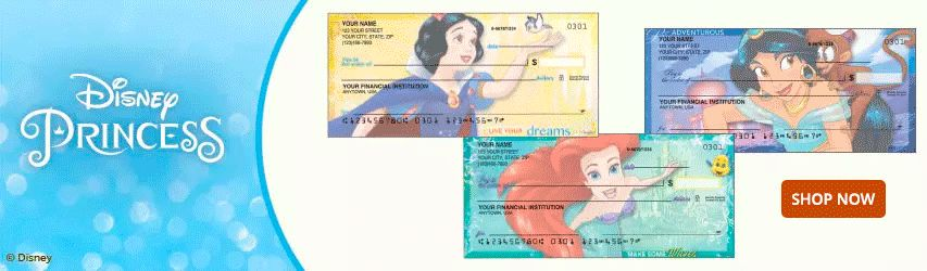 Order Mickey and Minnie Mouse Checks